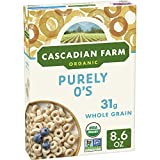 Cascadian Farm Organic Purely O's Cereal 8.6 oz (Pack of 12)