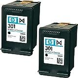 HP 301 Tintenpatrone (CH561EE x 2) Schwarz Doppelpack