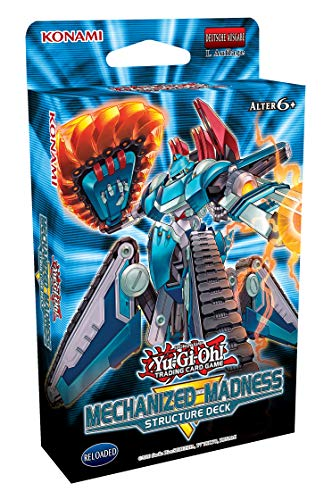 Yu-Gi-Oh! TRADING CARD GAME Structure Deck - Mechanized Madness - Deutsche Ausgabe