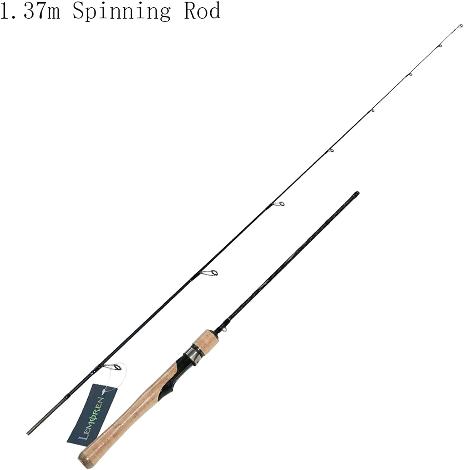 Spinning Rod Solid Tip Fast Action Carbon Rod for Light Jigging Fishing Rod Portable Carbon Sea Lake Casting Fishing Lure Rod