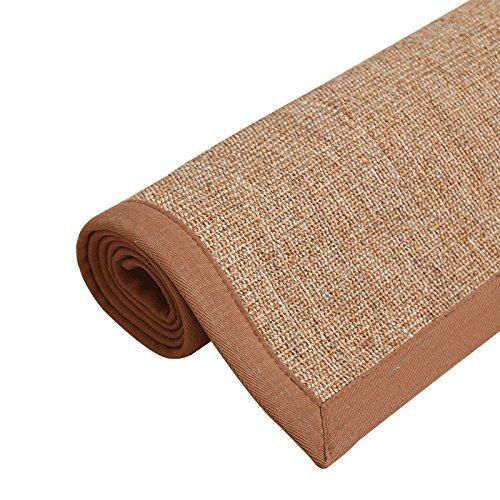 QIQIZHANG Tapijt, Naturisal, tapijt, woonkamer, slaapkamer, tatami-tapijt, krabmat voor katten, huisdieren (kleur: I, grootte: 100 x 150 cm)