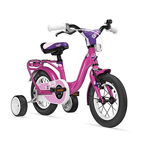 S'COOL Kinder niXe Alloy 12 Kinderfahrrad, Pink, Zoll