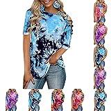 Dasongff Camiseta de manga larga para mujer, mejor amigo, cuello redondo, informal, blusa, camiseta de moda, casual, suelta, de manga larga, camiseta de fitness, deportiva.