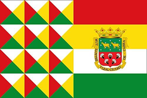 magFlags Bandera XL Cabra, Córdoba, España | Bandera Paisaje | 2.16m² | 120x180cm