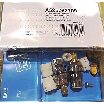 Roca AG0054403R - Kit G Cartucho 1/2 Termostático RT-9, Recambios ...