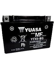 BATTERIA YUASA YTX9-BS 12 V 8 AH PER YAMAHA VP X-CITY 250 2007/2015