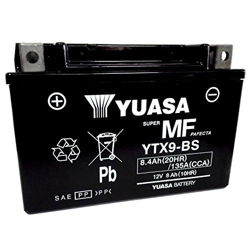 Yuasa - YTX9-BS - Batería de 12V y 8Ah