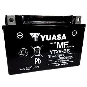 Batería Yuasa YTX9-BS 12V 8Ah Para Honda NX Dominator 6501988/2002