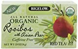 Bigelow Orgaantioxidant-fruits.comc Rooibos with Asian Pear Tea, 1.28-Ounce Boxes (Pack of 6)