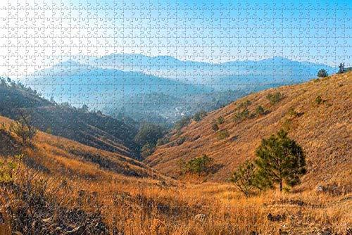 Rompecabezas para Adultos Belo Horizonte Mountain Brazil Puzzle 1000 Piezas Regalo de Recuerdo de Viaje de Madera