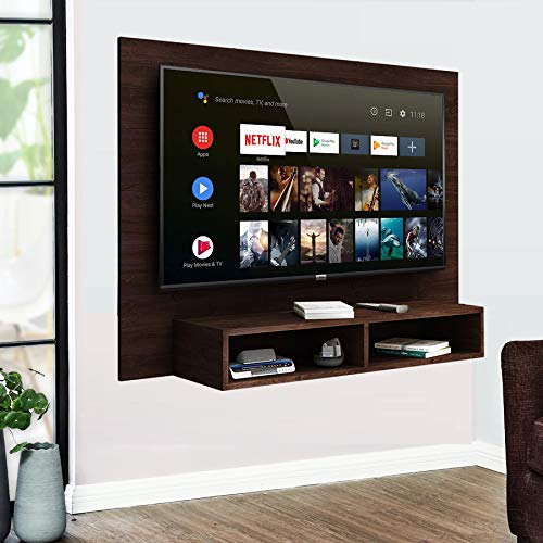 Aart Store Wooden TV Unit Wall Mount, TV Cabinet for Wall, TV Stand for Wall, TV Stand Unit Wall...
