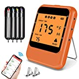MinSoHi Grill Thermometer Wireless Remote Digital Food Cooking Thermometer for BBQ Smoker Grilling