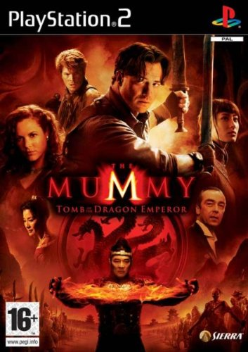 The Mummy Tomb Of The Dragon Emperor Ps2 Ver. Reino Unido