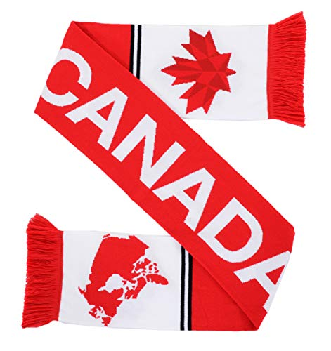 National Soccer High-Definition HD Knit Scarf (Canada)