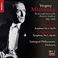 Brahms: Symphony No.4; Tchaikovsky: Symphony No.5 by Leningrad Philharmonic Orchestra