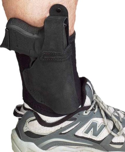Galco AL636 Lite Ankle Holster for Ruger LC9, Right, Black
