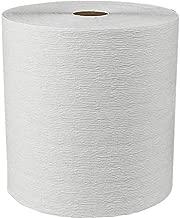 Scott Essential (Formerly Kleenex) Plus Hard Roll Paper Towels (50606) with Premium Absorbency Pockets, White, 6 Rolls/Case, 3,600 Feet - Same Kleenex Quality, Now Scott Branded
