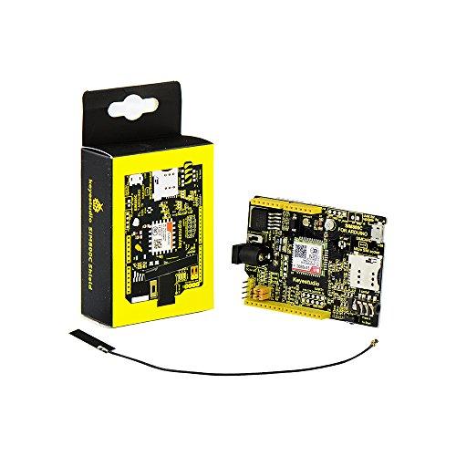 KEYESTUDIO SIM800C GPRS/GSM Shield Tarjeta de Expansión para Arduino Mega 2560 R3 Starter Kit