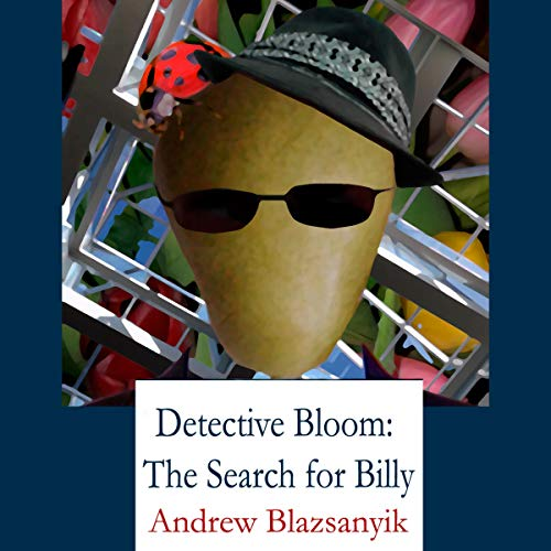 Detective Bloom audiobook cover art
