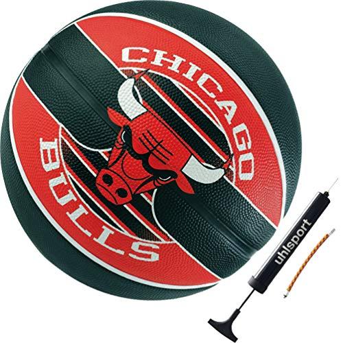 Spalding Chicago Bulls - Balón de baloncesto (talla 7)