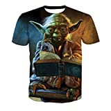 BchYu T-Shirts Unisexe Casual Tops 3D Impression Graphic Cosplay Respirant Cool Coton...