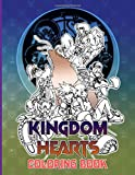 Kingdom Hearts Coloring Book: Coloring Books For Kids And Adults, Creativity & Relaxation