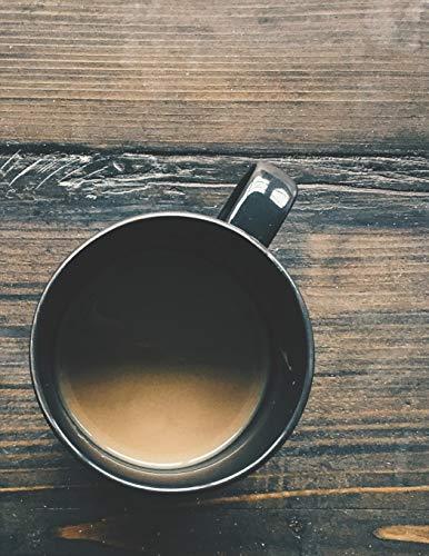 Kaffee Tasting Buch: Dein persönliches Verkostungsbuch zum selber ausfüllen ♦ für über 100 verschiedene Kaffeesorten ♦ Egal ob aus europäischen, ... A4+ Format ♦ Motiv: Milchkaffee