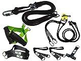 BodyCROSS Kit Suspension Trainer | Entrenador de suspensión sin Espaciador y con polea