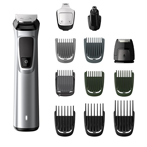 Philips Barbero MG7710/15 - Recortador de barba y precisión 12 en 1...
