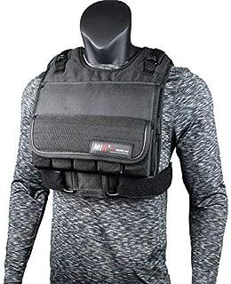 miR Short Weighted Vest with Zipper Option 20lbs - 90lbs (90LBS, Short)