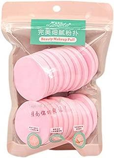 Aland 20Pcs Makeup Facial Sponges Soft Powder Puff Beauty Foundation Cosmetic Pads Pink