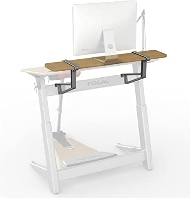Active Collection Locus 4 Shelf for Locus 4 Desks (sold separately), White Oak