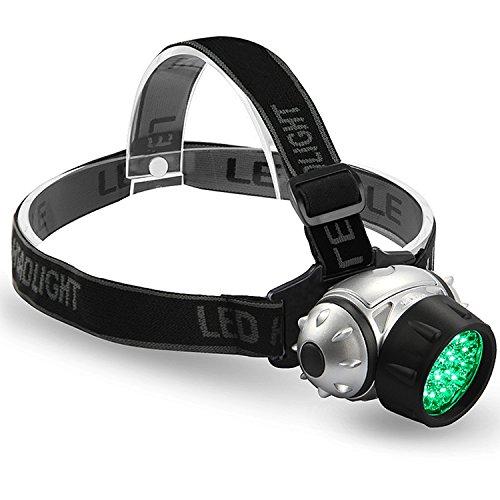 VIVOSUN 2 Pack 19-Bulb High Intensity LED Green Light Grow Room Headlight