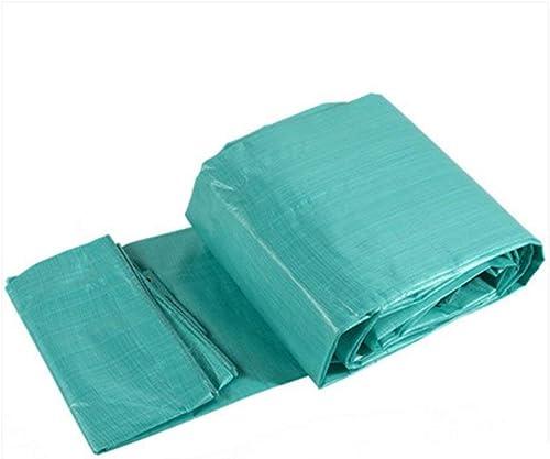 Yetta Toile Anti-vieillissement à Haute température pour Tissu antipoussière à Haute température de bache imperméable extérieure Double Face (Taille   5  7m)