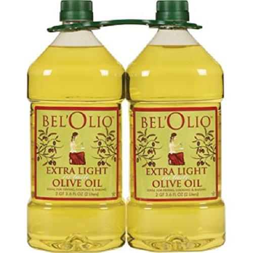 Belolio Twin Pack mart Extra Light Tasting Olive Li Liters 2 Oil Low price 4 -
