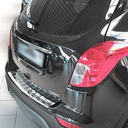 Recambo CT-LKS-1820 LADEKANTENSCHUTZ Edelstahl POLIERT für OPEL Mokka X | Chevrolet TRAX, Large