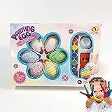 Odot Uova di Pasqua, Pasqua Decorazioni Bambini Giocattoli Dono Caccia Uova Decorativa di Festa Pasqua Casa Decorazione (6 Piece,Multicolor)