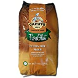 Antimo Caputo Gluten Free Pizza Flour 11 Lb Bulk - All Natural Multi Purpose Flour & Starch Blend for Baking Pizza, Bread, & Pasta