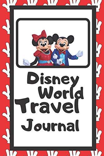 Disney World Travel Journal: Kids Disney World Travel Journal/Disney Autograph Book For Kids/Disney Kids Diary/6 x 9/70 Pages [Idioma Inglés]