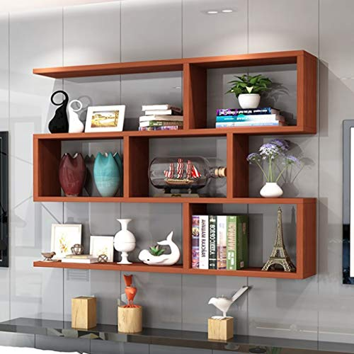 Wall shelf Floating shelf wandrek wandrekken boekenplank floating Book Storage hangend rek Organizer Eenheid plank, wandplank, plank plank decor, display rek eenheid (80 x 15 x 25 cm) zwever 80*15*25CM A