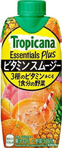 トロピカーナ エッセンシャルズ プラス ビタミンスムージー 330ml ×12本