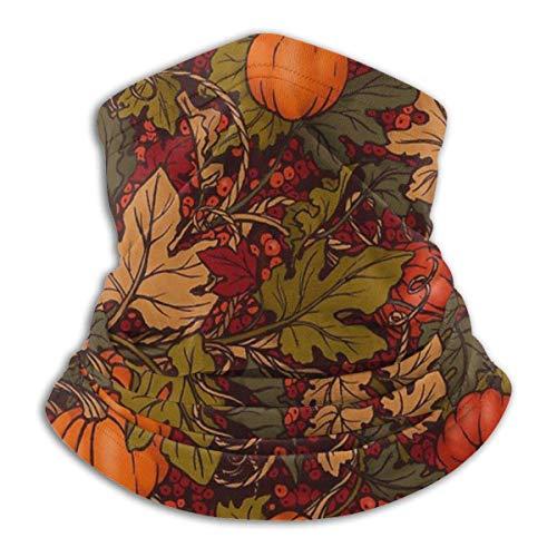 brandless Face Mask Autumn Pumpkins Ski Mask Hat Neck Gaiter Headwear for Women Men