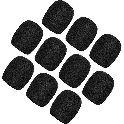 ChromLives Lapel Headset Micrófono Parabrisas Cubiertas de espuma...