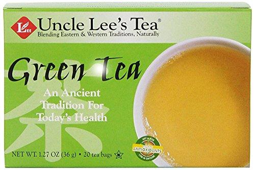 UNCLE LEE'S TEA - Green Tea - 20 Tea...