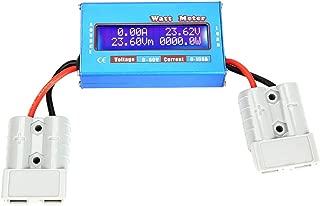 Watt Meter 0-100A 0-60V DC Power Analyzer High Precision Watt Volt Amp Energy Meter Analyzer Tool