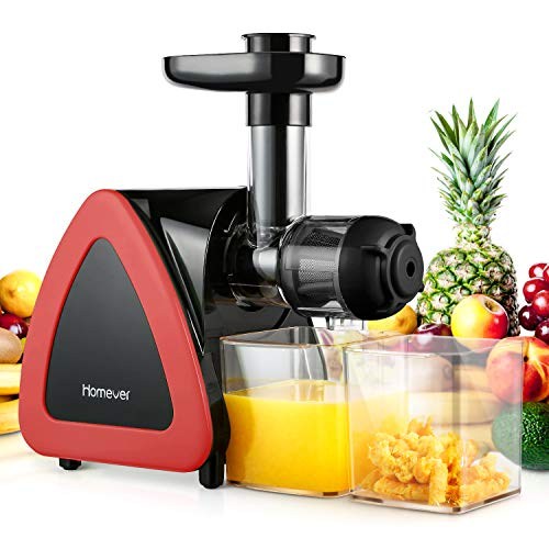 Homever Entsafter Slow Juicer, E...