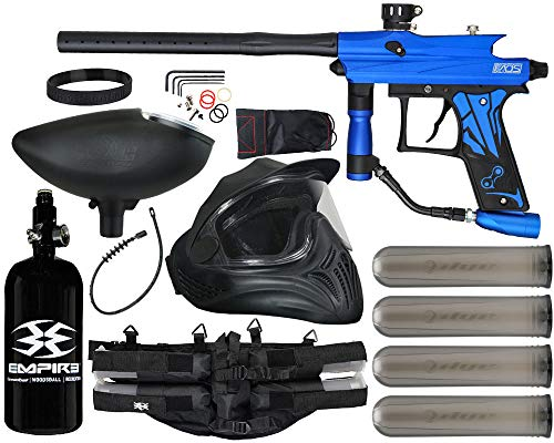 Action Village Azodin KAOS 3 Paintball Gun Legendary Package Kit (Dust Blue with Dust Black Parts)