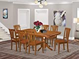 9 Pc formal Dining room set-Dining Table and 8 Kitchen Dining Chairs.