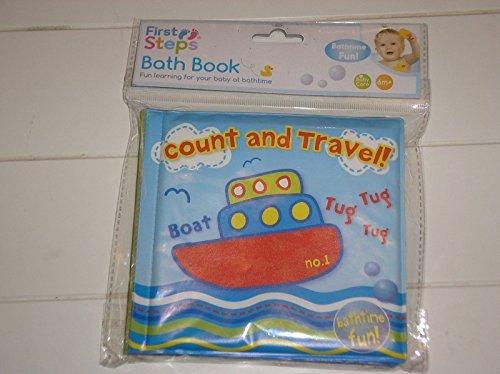 Baby Bath-time Book - Great Way to Make Reading Fun - Waterproof (Travel Bath-time Book) by Bid Buy Direct