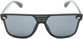 Óculos solar Prorider prata com lente espelhada azul H01492C4
